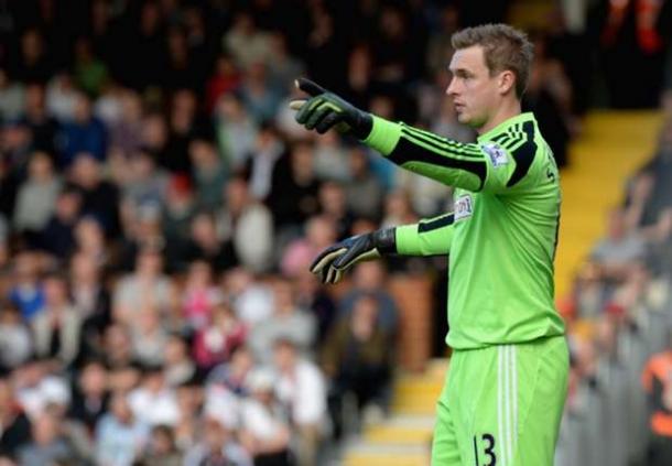 David Stockdale Sanjung Fans Fulham