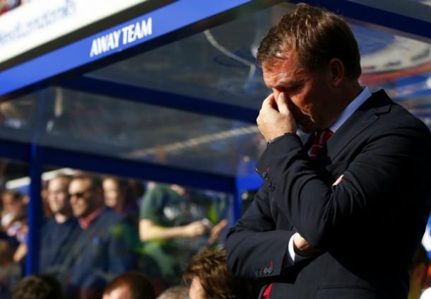 Brendan Rodgers Menilai Kalau Liverpool Seharusnya Mendapat Penalti